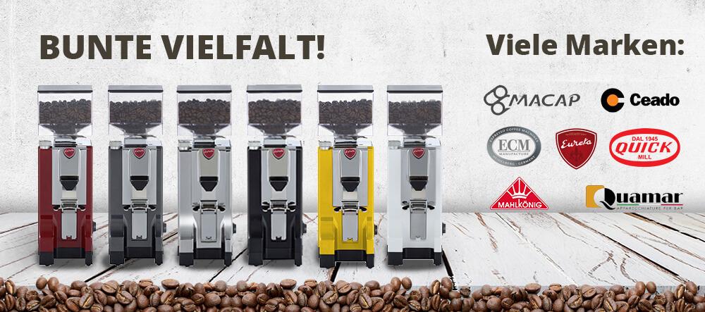 Banner Espressomühlen
