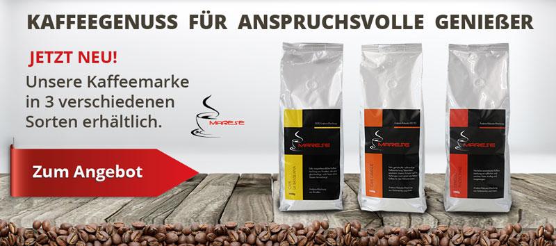 Banner Kaffee