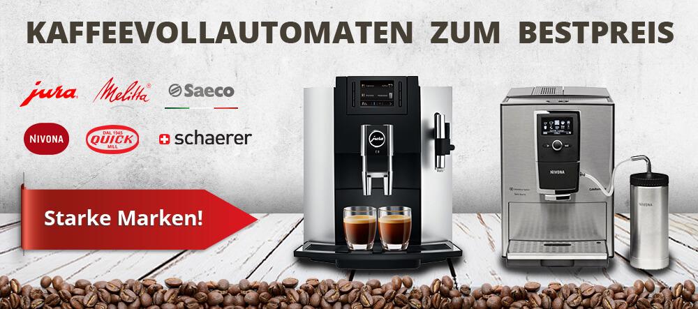Banner Kaffeevollautomaten