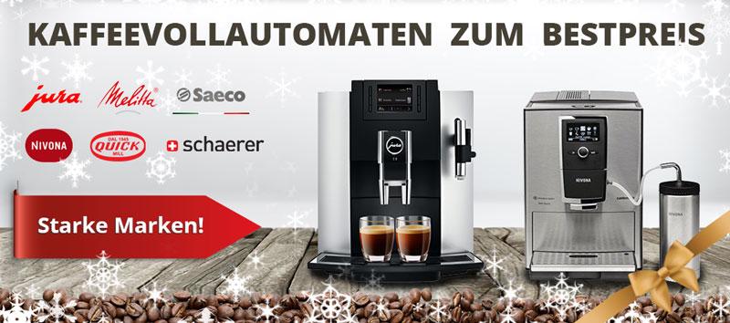 Banner Kategorie Kaffeevollautomaten