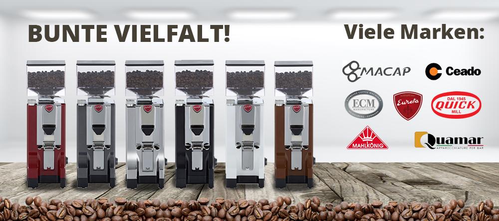 Banner Kategorien Espressomühlen