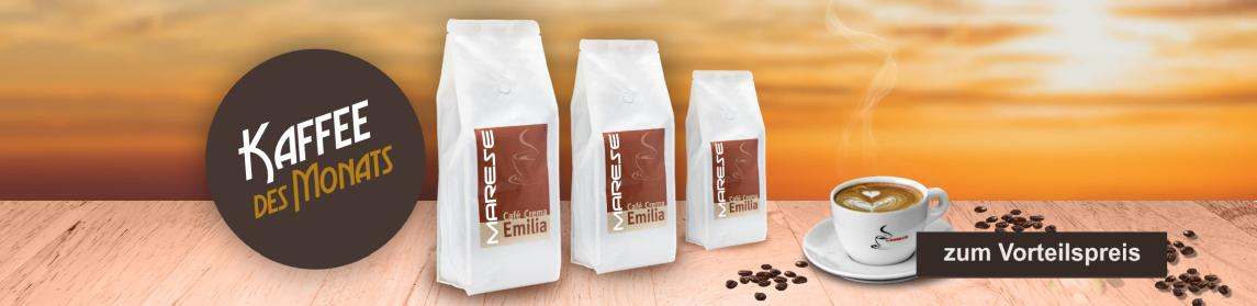 Kaffee des Monats: Marese Cafe Crema Emilia