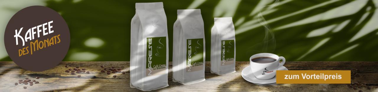 Kaffee des Monats: Café Creme La Brasiliana