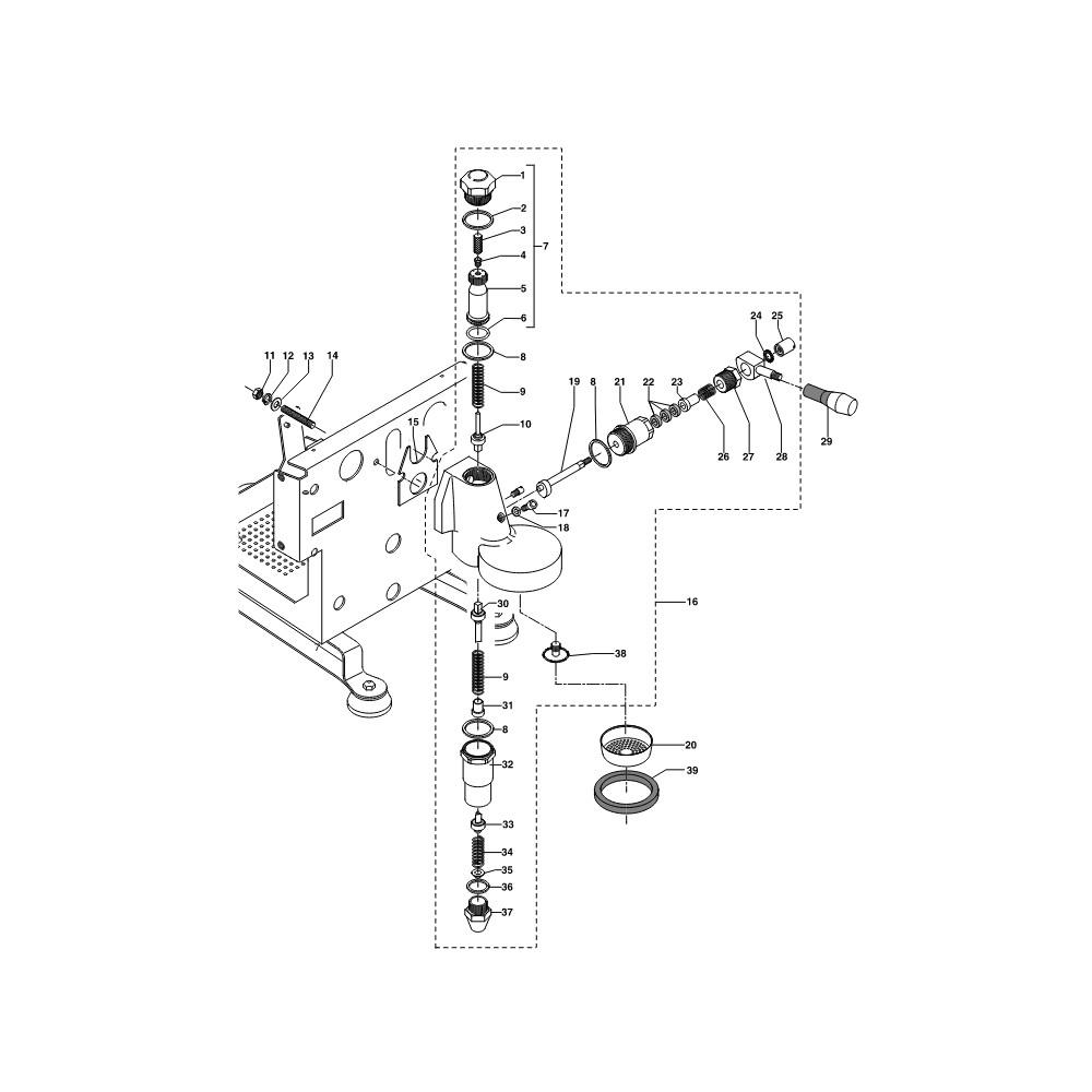 Explosionszeichnung ECM Vontrovento