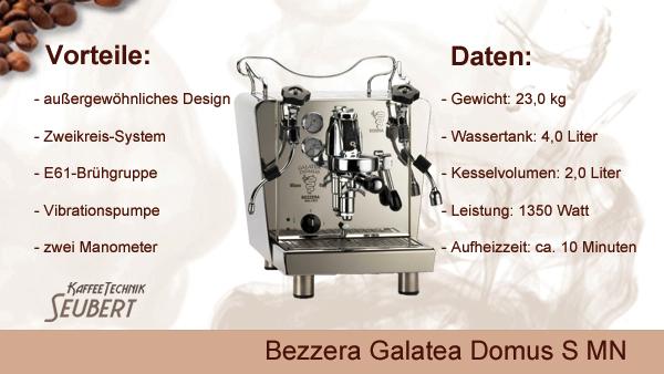 Bezzera Galatea Domus II S MN