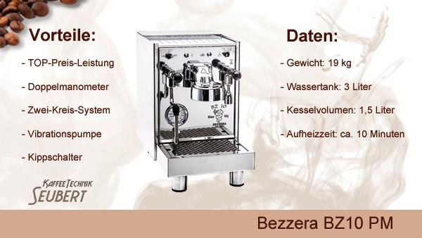 Bezzera BZ10 S PM Doppelmanometer