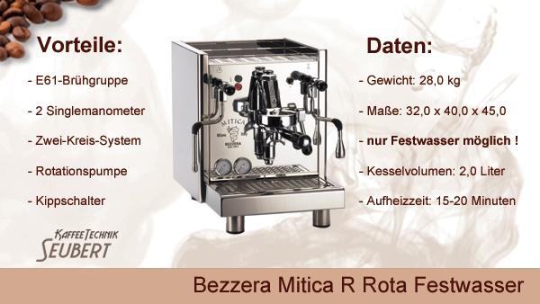 Bezzera Bezzera Mitica R Festwasser
