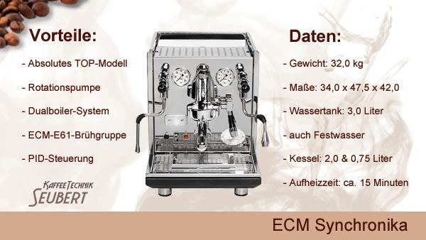 ECM Synchronika Edelstahl