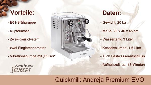 Quickmill Andreja Premium EVO