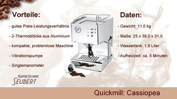 Quickmill: Cassiopea