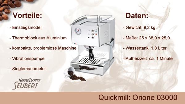 Quickmill: Orione 03000