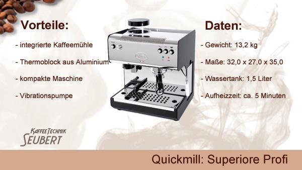 Quickmill: Superiore Profi