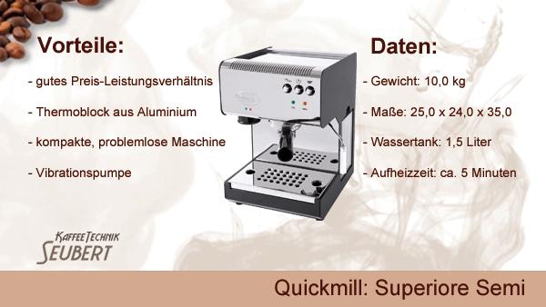 Quickmill: Superiore Semi