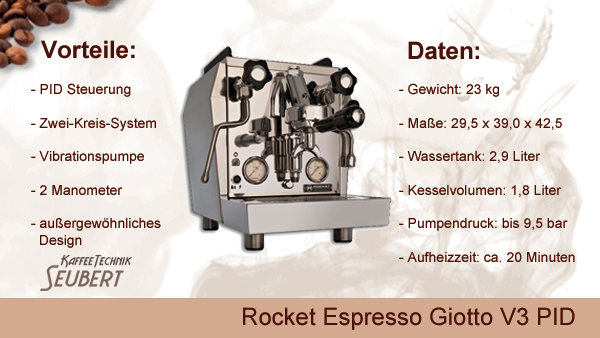 Rocket Espresso Giotto V3 PID