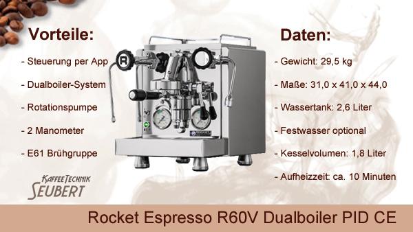 Rocket R60V Dualboiler PID CE