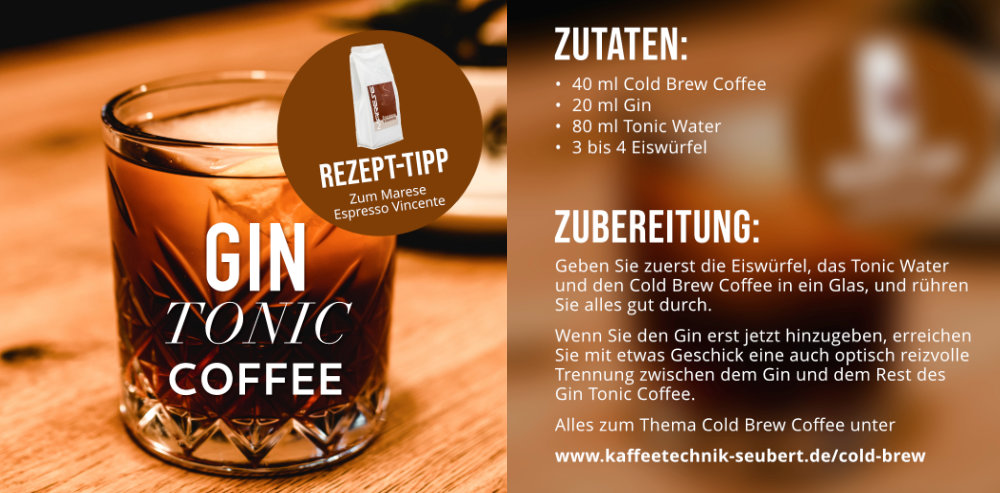 Rezept für Gin Tonic Coffee