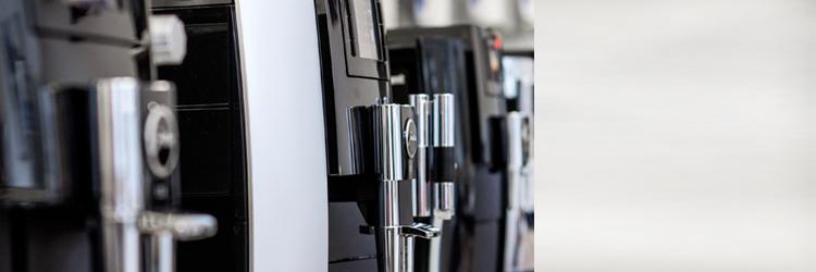 Kaffeevollautomaten Ausstellungsgeräte