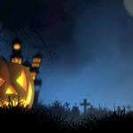 Halloween-Kaffee mit Bloody Cheescake und Gehirn Cupcakes