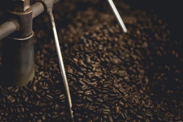 Dunkle Kaffeeröstung