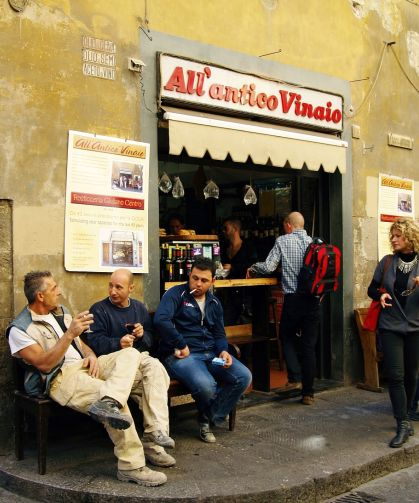 Espressobar in Italien