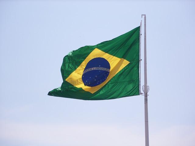 Die brasilianische Fahne