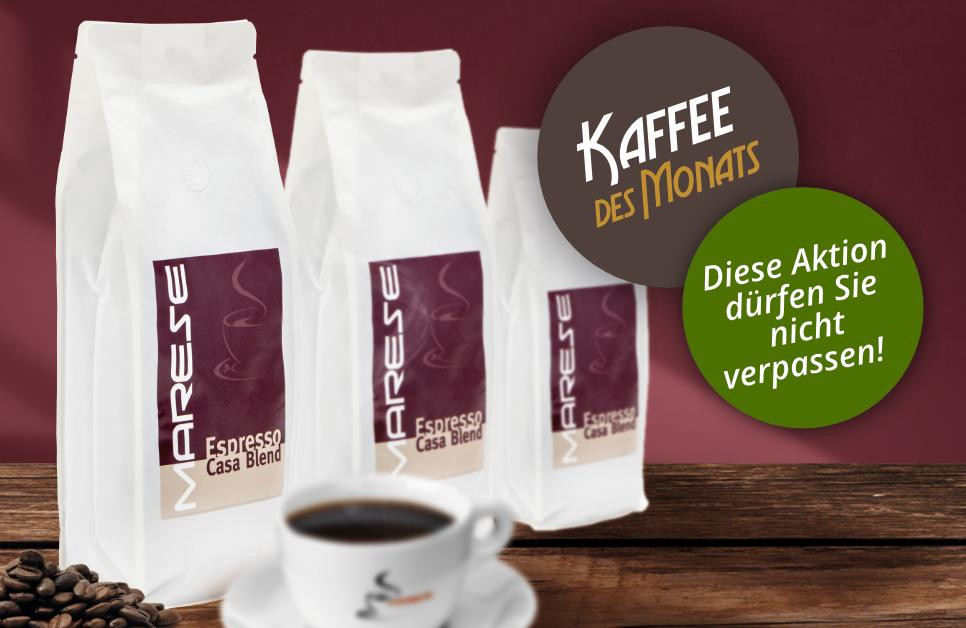 Kaffee des Monats: Marese Espresso Casa Blend