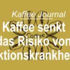 Kaffee senkt das Risiko von Infektionskrankheiten
