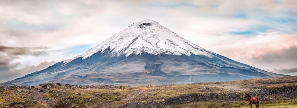 Vulkane in Ecuador
