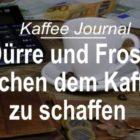 Dürre und Frost machen dem Kaffee zu schaffen