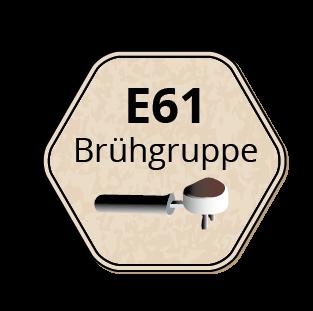 E61 Brühgruppen