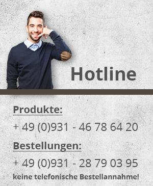 Unsere Hotline-Nummern
