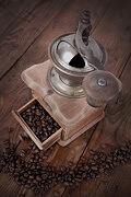 Klassische Kaffeemühle