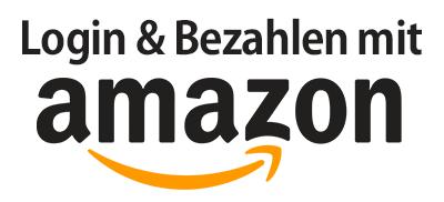 Bei uns können Sie mit Amazon Pay und Ihrem Login bezahlen