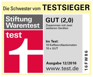 Jura E6 Test Stiftung Warentest