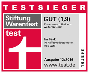 Jura E8 Test Stiftung Warentest