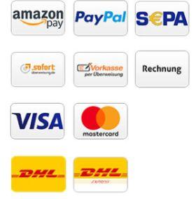 Bezahl- und Versandmethoden