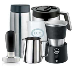 Zubehör Kaffeevollautoimaten und Siebträger