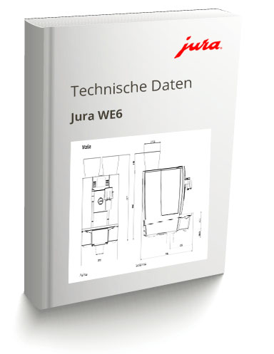 Technisches Datenblatt Jura WE6